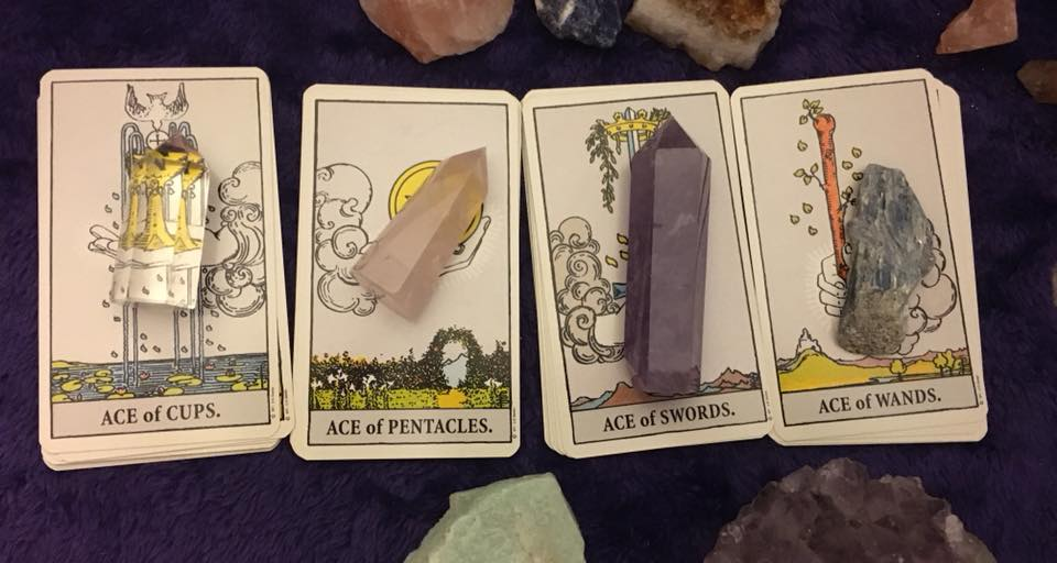The Minor Arcana - Cups, Wands, Swords and Pentacles